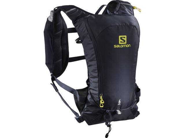 Salomon Agile 6 Backpack Set Night Sky/Sulphur Spring
